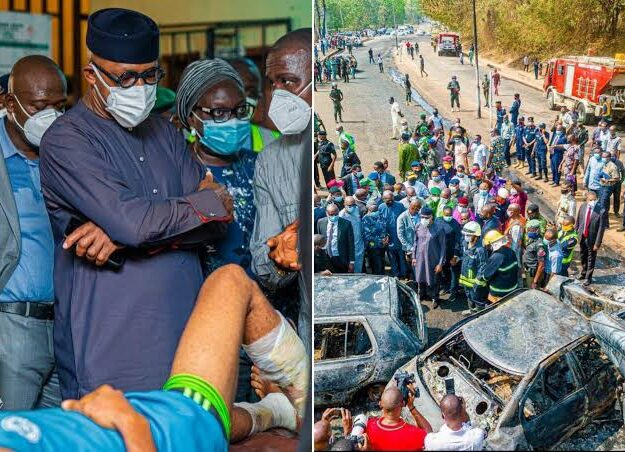 Abiodun Bans Trucks, Trailers From Flyovers As Three Die In Ogun Tanker Explosion