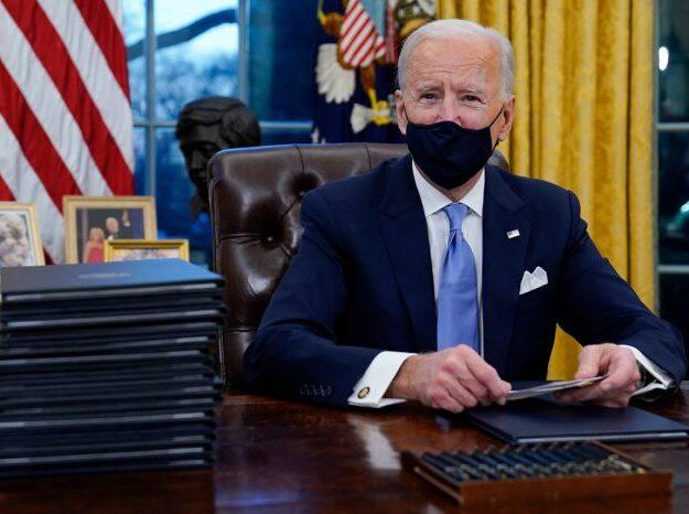 Biden Signs 17 Executive Orders Reversing Many Policies of Donald Trump