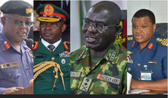 EXPOSED: Buratai, Olonisakin, Two Other Service Chiefs Get Eight Flashy Vehicles, More As New Retirement Benefits
