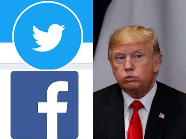 Facebook And Twitter Lock Trump's Accounts Over His Comments On Violence That Rocked US Capitol Hill 1