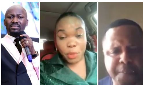 Female Pastor Accused Of Sleeping With Apostle Johnson Suleman Breaks Her Silence (Video)