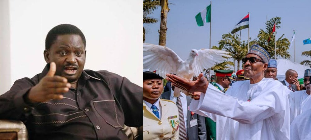 Femi Adesina Reveals Why Pigeons Released By President Buhari Refused To Fly 1