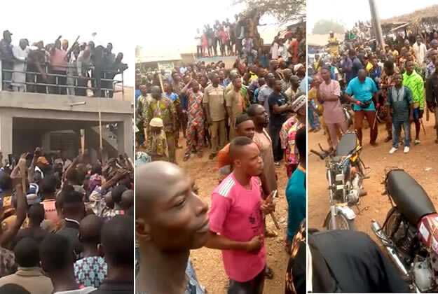 Horror! Two Feared Dead As Herdsmen And Sunday Igboho's Supporters Clash In Oyo