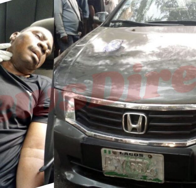 Man Dies While Driving In Magodo, Lagos
