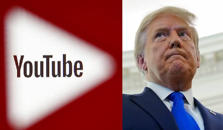 More Trouble For President Donald Trump As YouTube Suspends His Channel 1
