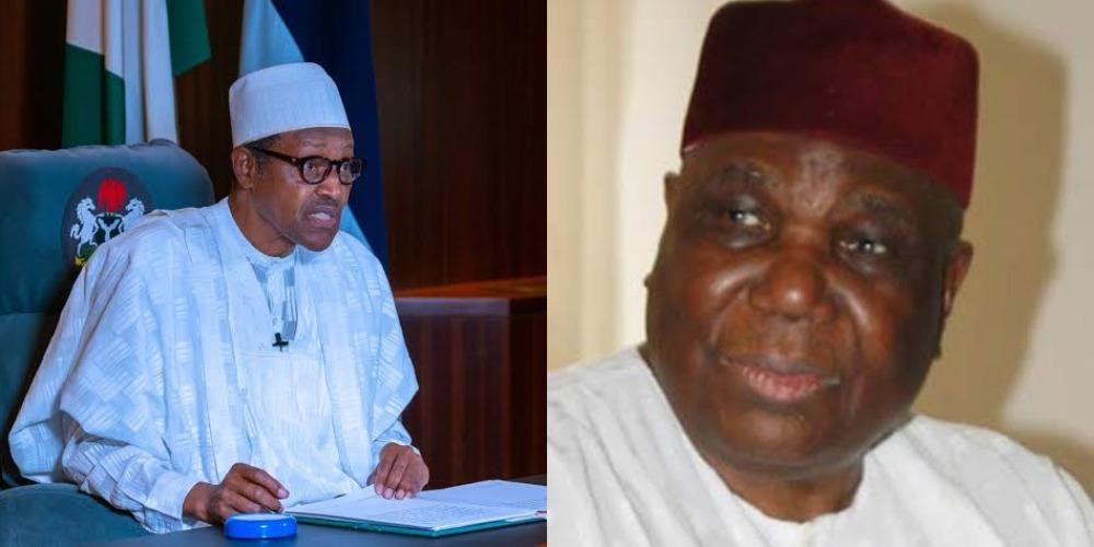 """Nigeria Lost A Great Son"" - President Buhari Mourns Former IGP, Gambo Jimeta 1"
