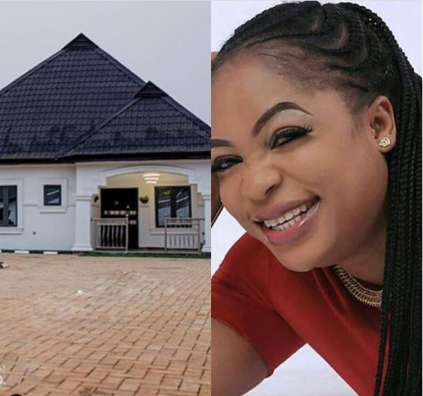 Nigerian Actress, Kemi Afolabi Builds A New House (Photo)