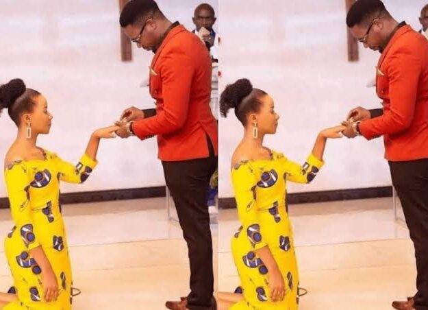 Nigerian Man Claims Women Are Meant To Kneel When Accepting Marraige Proposals