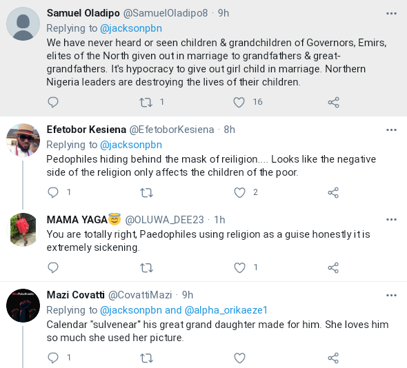 Nigerians Reacts As Elderly Grandfather Weds Young Girl In Northern Nigeria 4