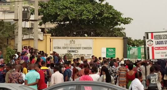 NIN Registration: NIMC Workers Embark On Strike Over Welfare Issues, Exposure To COVID-19 1
