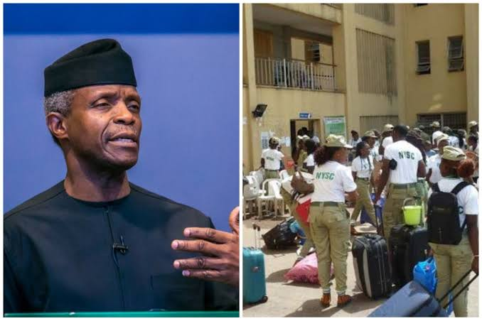 NYSC Ignores Osinbajo, Orders Corpers To Camp On Tuesday Amid COVID-19 Surge 1