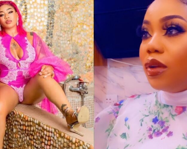 Toyin Lawani Reacts After Catching One Of Her Staff Wearing Her Bra [Video]
