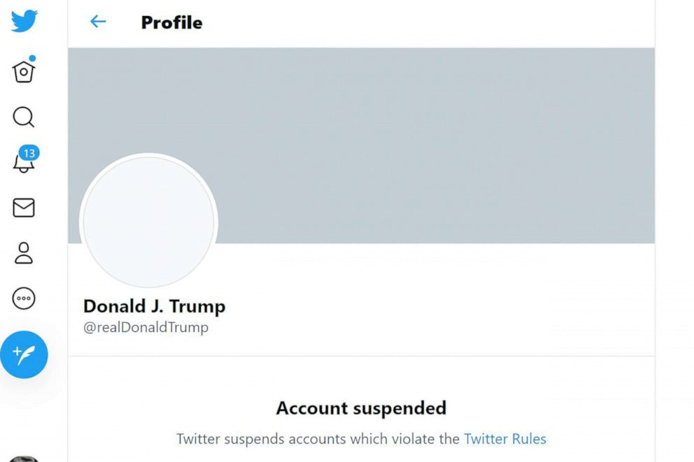 Twitter Bans President Trump Permanently Due To Risk Of Further Incitement Of Violence 2