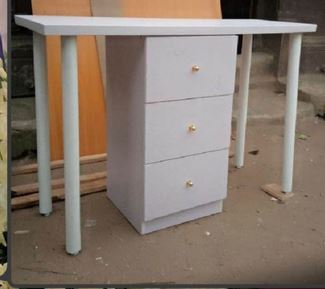 What I Ordered Vs What I Get: Customer Shares Photo Of The Work Desk A Carpenter Made For Her