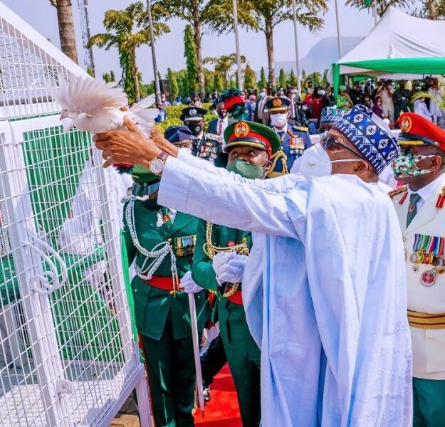 Why Pigeons Buhari Released Refused To Fly – Presidency
