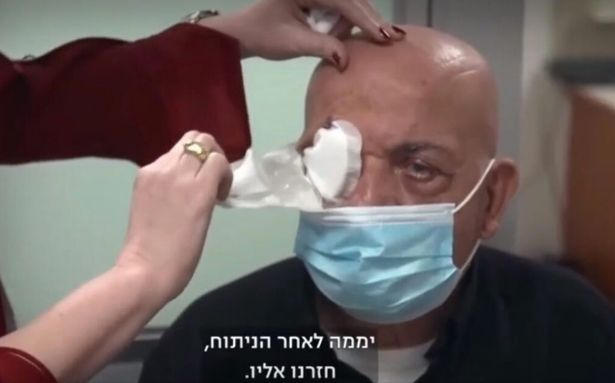 Wow! Blind Man Sees For The First Time In 10 Years Using Revolutionary Artificial Cornea (Photos)