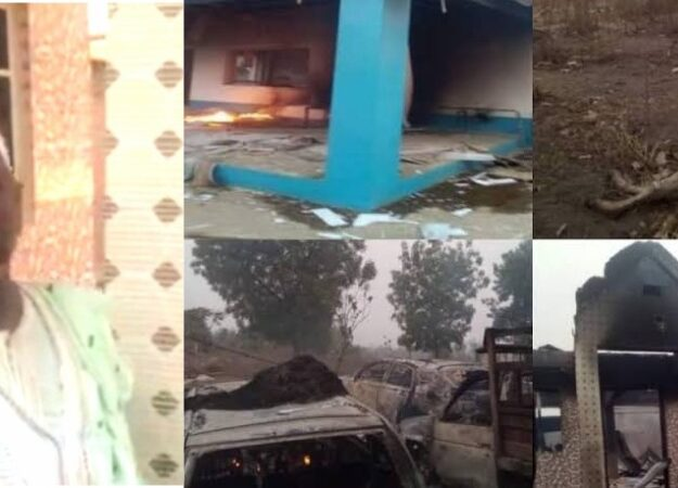 Yoruba Youths Expels Seriki Fulani From Oyo Community, Burns His Palace, 11 Cars