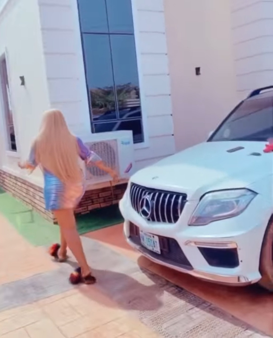 """An extra baby added to my garage"" Actress, Destiny Etiko shows off her newest car (video)"