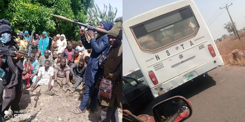 Bandits With RPG Release Picture And Video Of 21 Abducted Passengers In Niger State 1