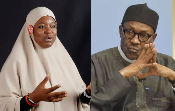 Buhari's Words Are Meaningless, His Body Language Enables Terrorists – Aisha Yesufu