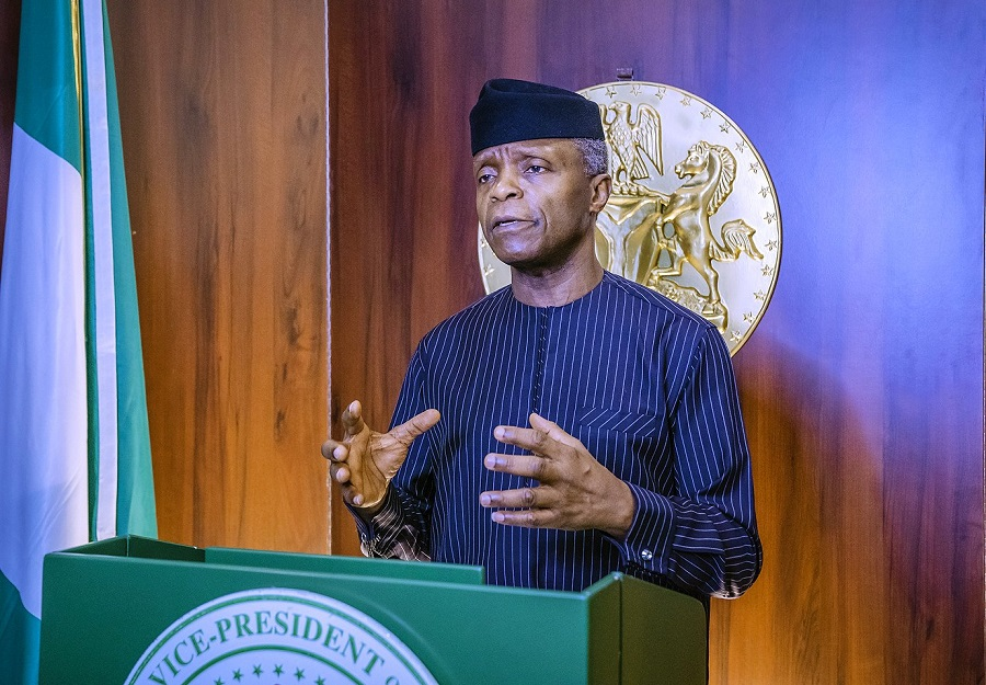 """""""Cryptocurrencies Should Be Regulated, Not Prohibited In Nigeria"""" - Osinbajo Tells CBN 1"""