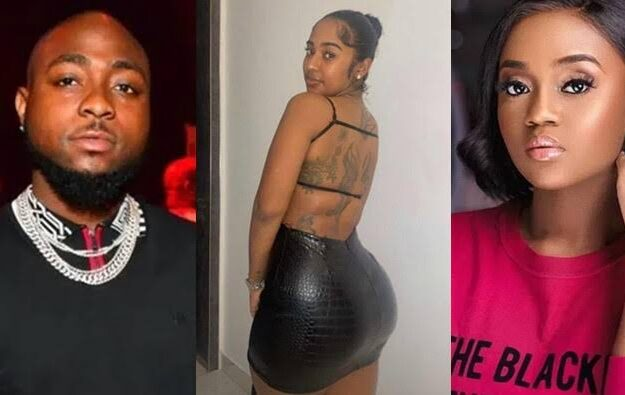 Davido Allegedly Dumps Chioma, Steps Out With American Girlfriend Mya Yafai [Video]
