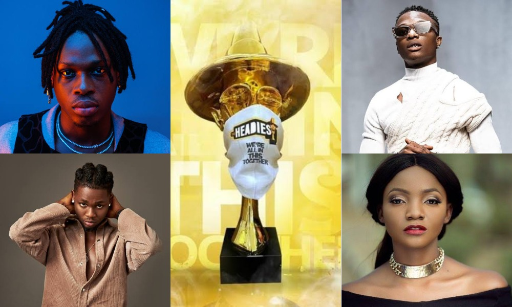 Fireboy, Wizkid, Simi And Omah Lay Wins Big At The Headies Awards - See Full List Of Winners 1