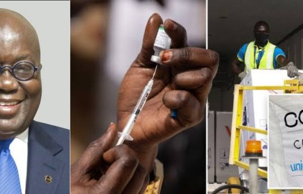 Ghana Becomes First Country To Receive COVID-19 Vaccine Through WHO's COVAX Program