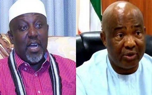 Gov Uzodinma reports Sen Okorocha to Buhari