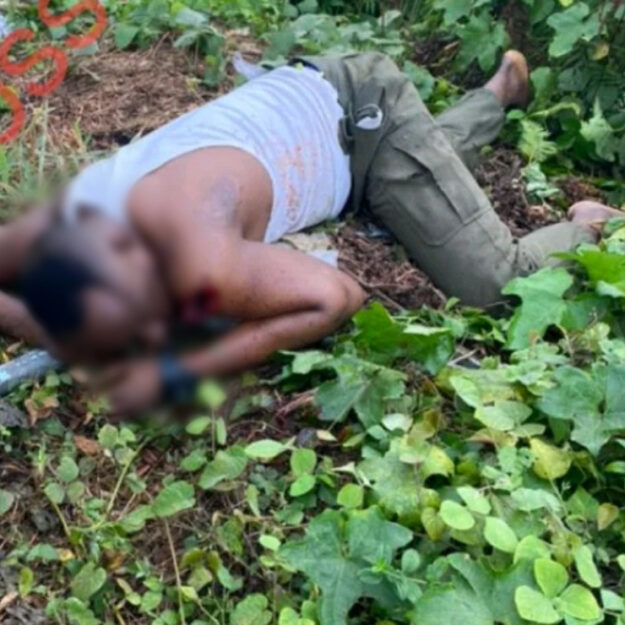 Graphic Photos of Four Policemen Shot Dead By Suspected Kidnappers at Checkpoint in Calabar
