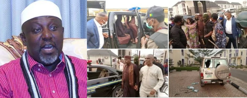 """""""I Was Attacked By Thugs, They Cut My 'Boys' With Machetes"""" - Okorocha Speaks After His Arrest 1"""