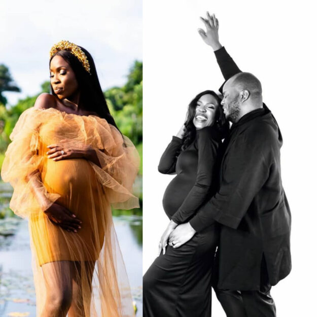 It's A Boy! Actress Lala Akindoju And Husband, Chef Fregz, Welcome Their First Child