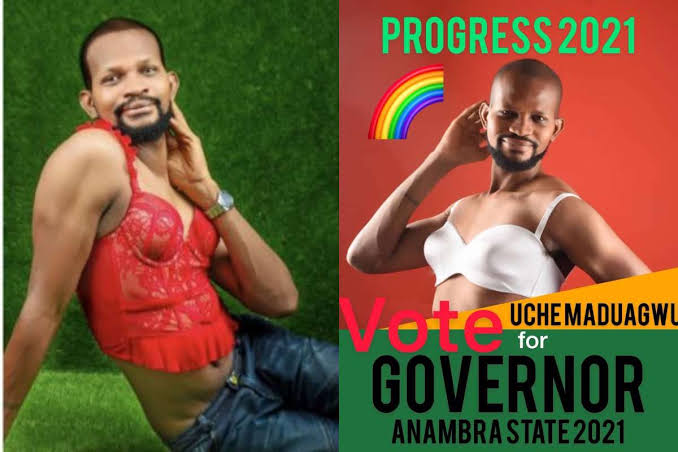Nollywood Gay Actor, Uche Maduagwu Joins Anambra Governorship Race 1