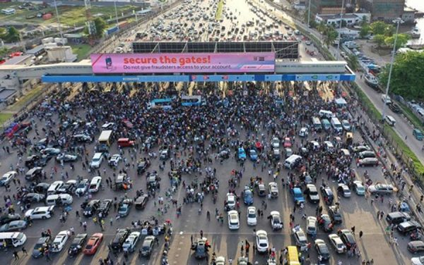 Lekki toll gate protesters