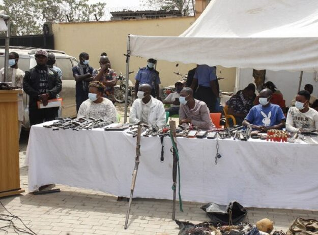 Operation Puff Adder II – Police Arrest 48 Notorious Criminal Suspects