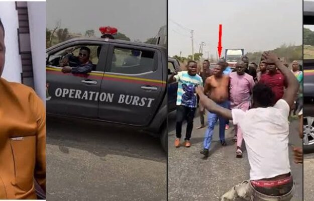 Pandemonium As Security Operatives Attempts To Arrest Sunday Igboho [Video]
