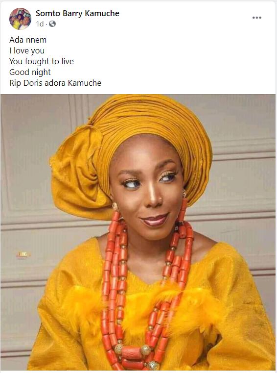 Popular Nigerian Blogger, Kamuche Doris Dies After Celebrating Her Birthday 2