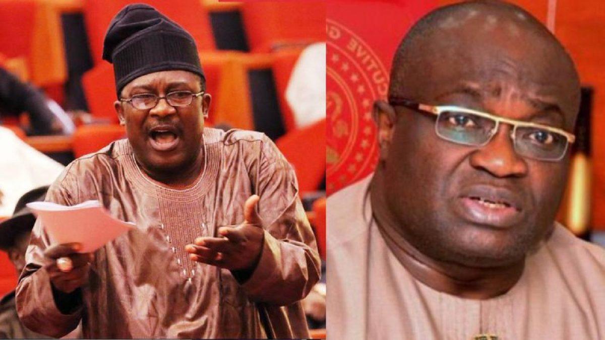Smark Adeyemi and Okezie Ikpeazu