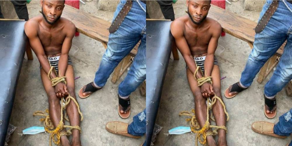 Staff Arrested For Allegedly Stealing Boss' N7 Million To Open A Phone Shop In Lagos 1