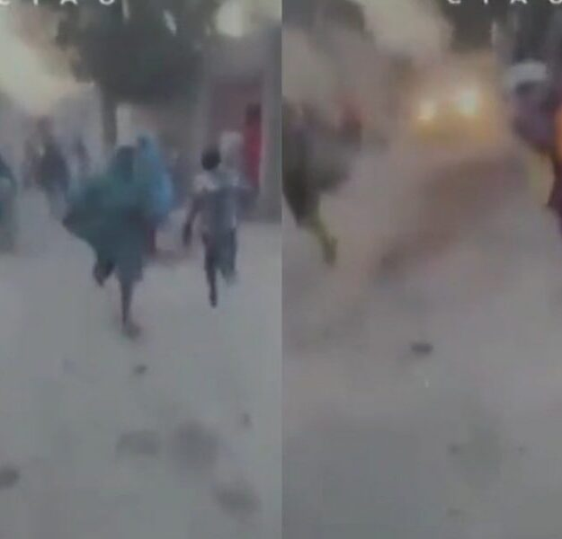 Terrifying Moment Maiduguri Residents Ran For Their Lives As Boko Haram Attacked Their Community (Video)