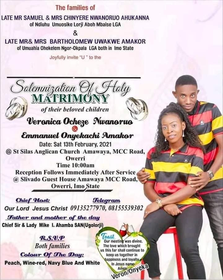 Young Man Dies In Fatal Car Accident, Just Few Days To His Wedding In Imo State [Photos] 3