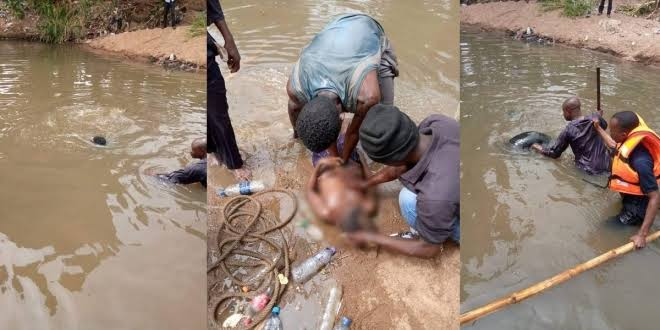 12-Year-Old SchoolBoy Drowns To Death While Swimming With Friends In Ilorin River [Photos] 1