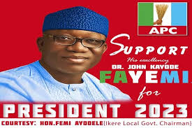 2023: Fayemi declares intention to take offer to run