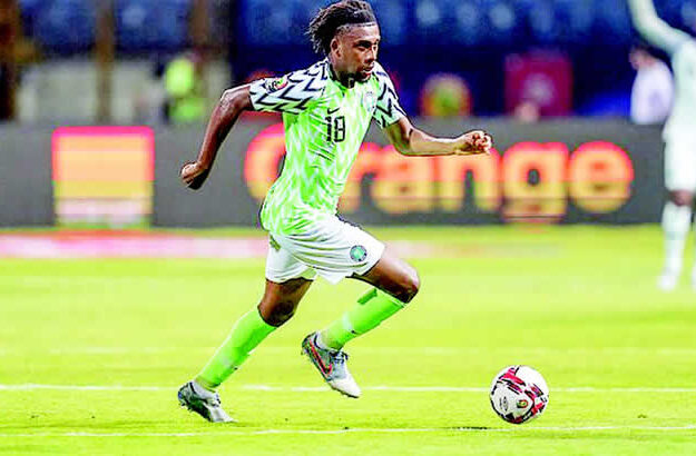 AFCON: Iwobi Tests Positive For COVID-19, Out Of Benin Clash