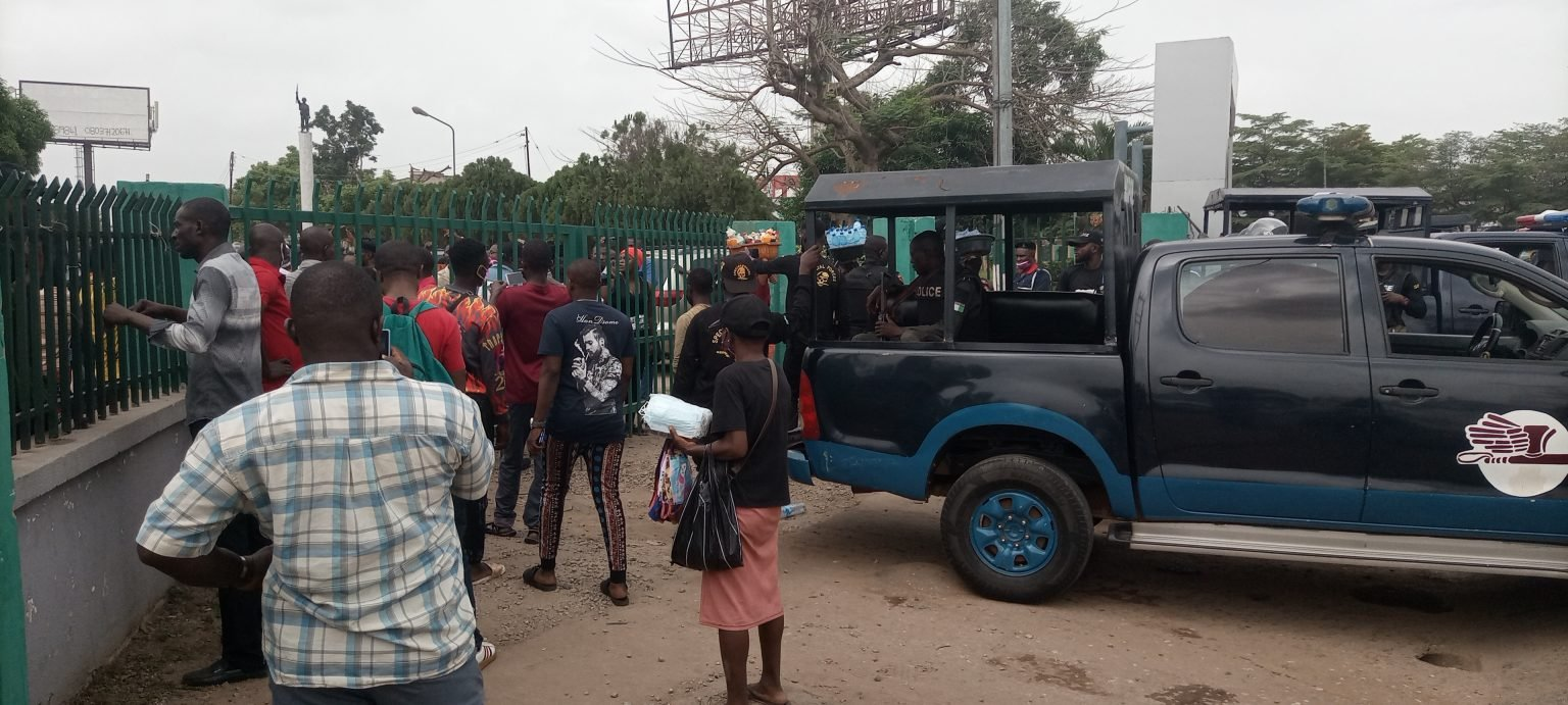 Protest in Edo over fuel and cement hike