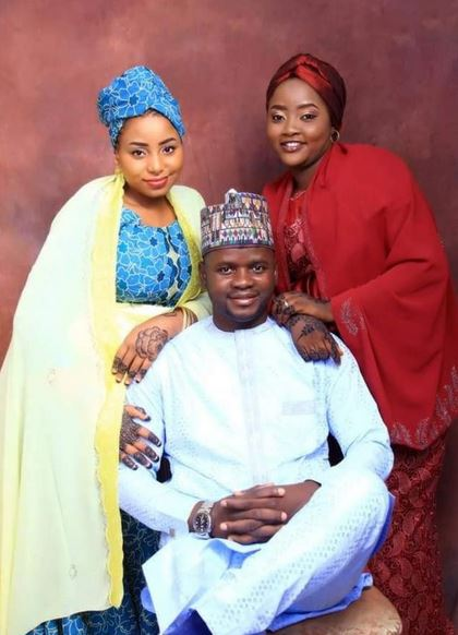 APC Youth Leader Marries Two Wives Same Day In Abuja (Photo)