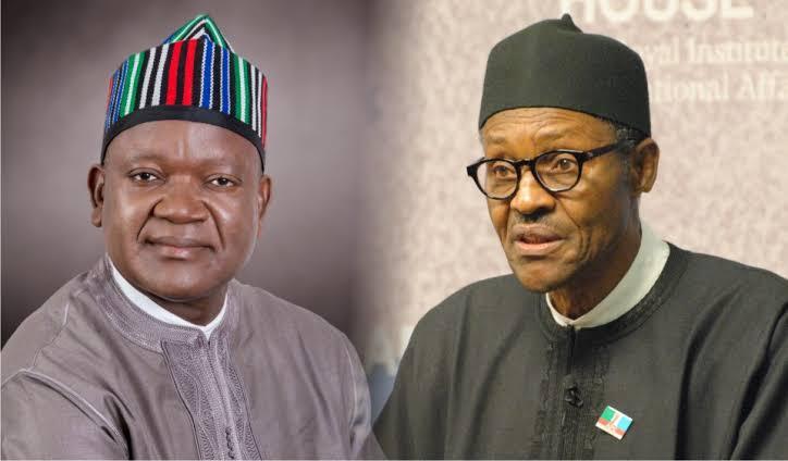 Assassination Attempt On Gov Ortom Should Be Investigated, Not Politicized – President Buhari 1