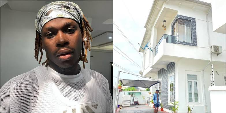 """""""Beyond Blessed"""" - Fireboy Says As He Shows Off His New Multi-Million Naira Mansion 1"""