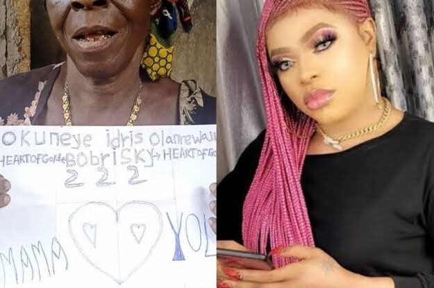 Bobrisky Promises To Get New Apartment For Old Woman Who Declared Love For Him