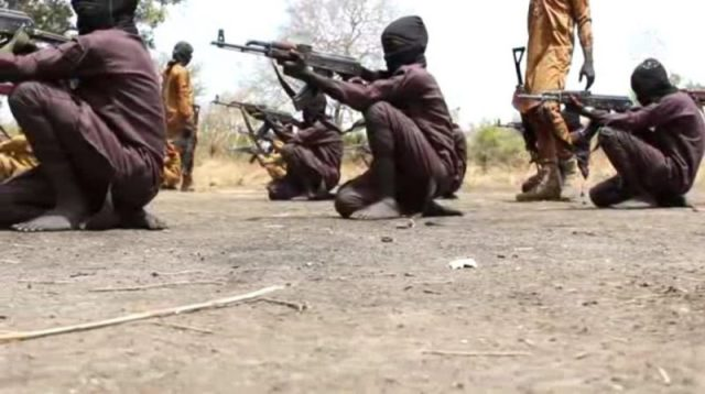 Boko Haram Releases Video Of Children Undergoing Combat Training In A Camp [Photos] 4